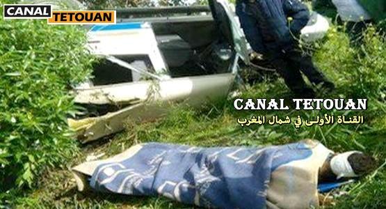 حادثة سير خطيرة … سيارة إسعاف متجهة إلى مستشفى سانية الرمل تنقلب ضواحي تطوان