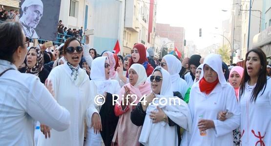 مسيرة الأكفان من أجل الحياة بالحسيمة ! (شاهد الصور)