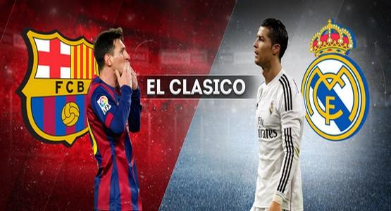 أهداف الكلاسيكو ريال مدريد 02 و برشلونة 03
