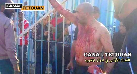 لهذا السبب أقدم مواطن مغربي على ذبح نفسه في معبر الذل سبتة