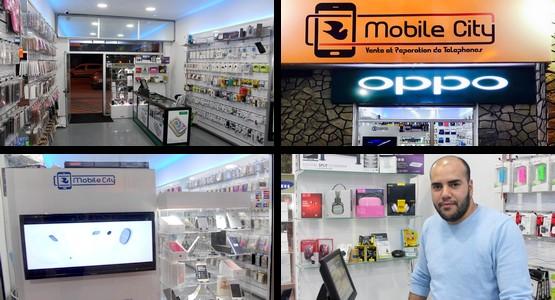 """جديد بتطوان … افتتاح شركة """"Mobile City"""" لبيع واصلاح الهواتف والأجهزة اللوحية والحواسيب وأكسسواراتها (شاهد الصور)"""