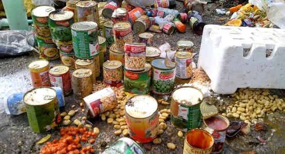 حجز أطنان من الأغذية الفاسدة كانت في طريقها لأمعاء المغاربة