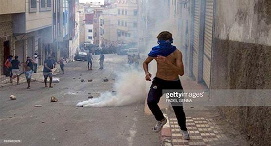 احتجاجات الحسيمة عرفت تصعيدا خطيرا : 298 شرطيا أصيبوا و الخسائر فاقت 14 مليون درهم