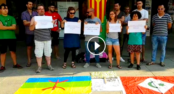 """""""بكل اللغات""""  نشطاء أوروبيون يناشدون الملك الافراج عن معتقلي الريف"""