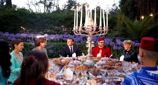 ما كتبه الرئيس الفرنسي «ماكرون» بعد زيارته المغرب