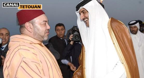 الملك محمد السادس وأمير قطر يقضيان عطلتهما بالمضيق