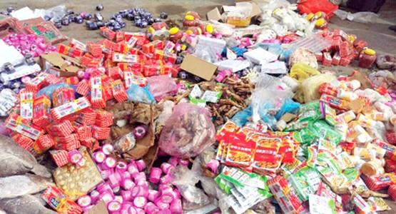 حجز و اتلاف 18 طن من المنتجات الغدائية غير صالحة للاستهلاك بجهة طنجة تطوان حسيمة