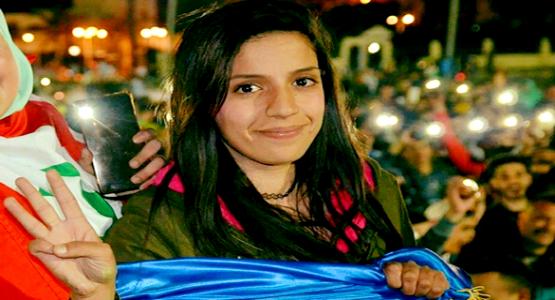 الناشطة سيليا الزياني تمثل أمام الوكيل العام للملك