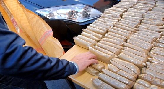 الجمارك المغربية تحجز كميات مهمة من الحشيش بمعبر سبتة