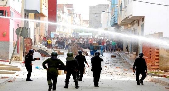 أ ف ب :الشرطة استخدمت الغاز المسيل للدموع في الحسيمة