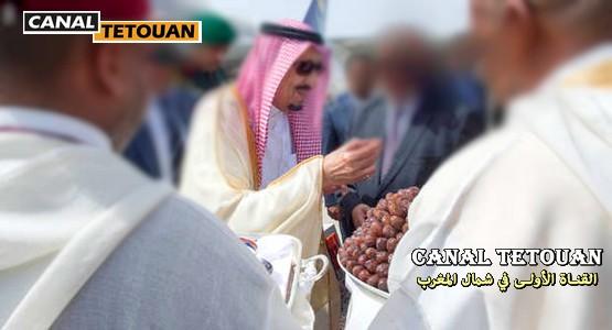 اعتصام أمام قصر العاهل السعودي بطنجة