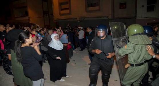 """تعليمات امنية لإجلاء """"نسبي"""" لقوات الأمن في عدة مناطق في إقليم الحسيمة"""