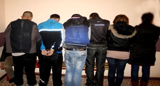 إعتقال طلبة قاموا بسرقة محلات تجارية بتطوان