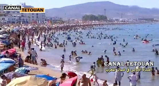 """زوار شاطئ المضيق يتقدمون بشكاية لــِـ إدارة """"كنال تطوان"""" !"""