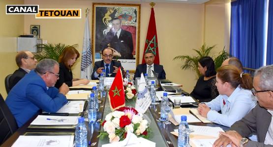 اجتماع لجنة الإشراف والمراقبة للوكالة الجهوية لتنفيذ المشاريع بجهة الشمال
