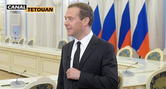 وزير روسيا الأول يحل بالمغرب في زيارة رسمية للقاء الملك والحكومة