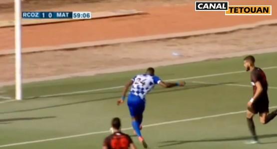 أهداف مباراة سريع وادي زم ضد المغرب التطواني RCOZ 2 – 0 MAT