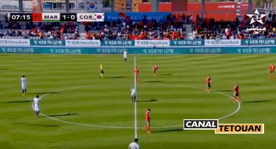 المنتخب المغربي ينتصر على منتخب كوريا الجنوبية في مباراة ودية [ملخص الأهداف]