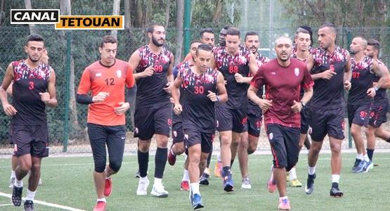 المدرب الجزائري بن شيخة يمنح يومين راحة للاعبي المغرب التطواني