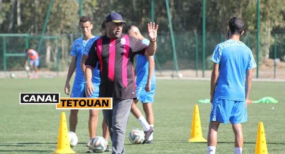 بالصور … المغرب التطواني يواصل تحضيراته لمواجهة الفريق الجديدي