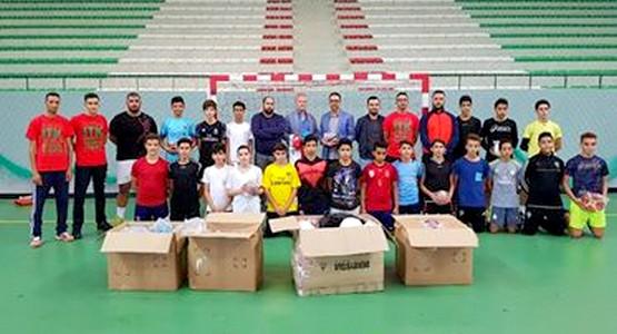 بين نادي السد التطواني والسفارة الالمانية: مشروع لدعم مدرسة كرة اليد