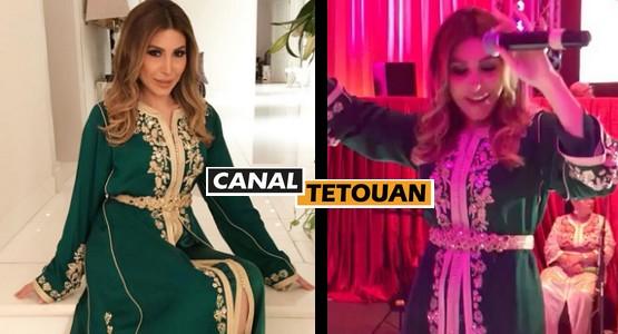المغنية اللبنانية YARA تحيي حفل زفاف بمدينة تطوان