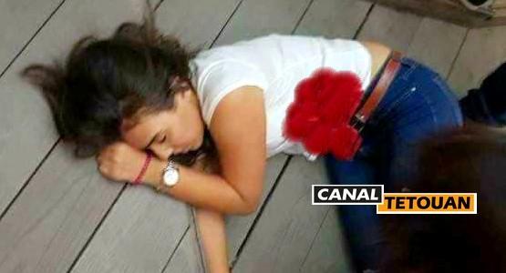 لحظة اطلاق النار على فتاة في مقهى بمراكش (شاهد الفيديو)