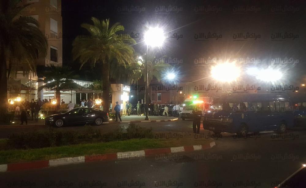 """خمس مروحيات لاعتقال المتورطين في اطلاق النار بمراكش وتوقيف 14 دراجة نارية """"تيماكس"""""""