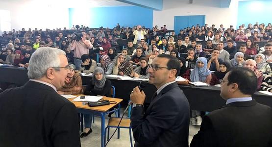 """""""وزير التعليم العالي"""" يزور جامعة عبد المالك السعدي بتطوان"""