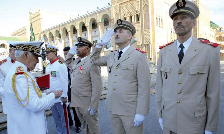 الكولونيل الجديد الذي تولى قيادة الحامية العسكرية بتطوان
