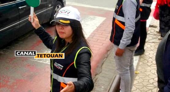 الشرطة المدرسية تخلق الحدث بمدينة تطوان (شاهد الصور)