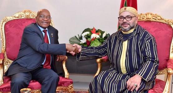 محادثات تاريخية بين المغرب وجنوب افريقيا