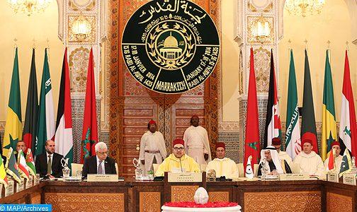 رسميا: المغرب يعلن موقفه القوي والثابت مع الشعب الفلسطيني !