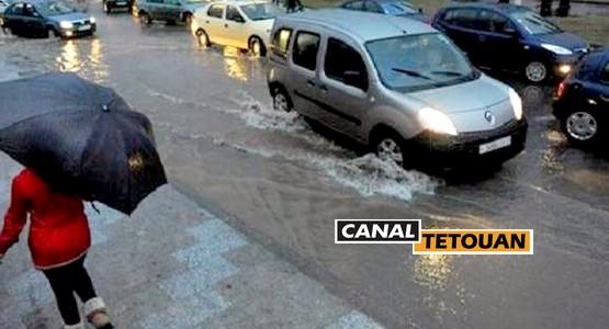 """مدن """"جهة الشمال"""" الأكثر استقبالا للأمطار خلال 24 ساعة الماضية"""