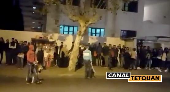 عــاجــل .. اعتقال ثلاثة جانحين ظهروا في شريط فيديو يهددون المواطنين بالسيوف بتطوان (+فيديو)