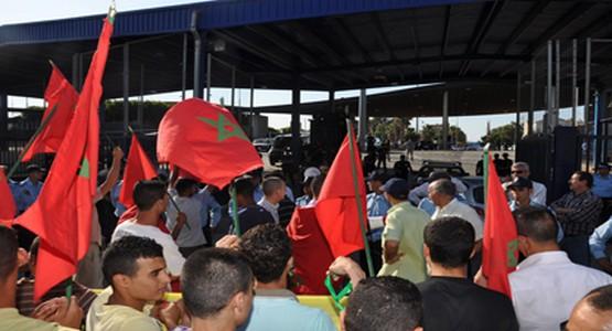 """إسبانيا والمغرب يتدارسان إمكانية فرض بطاقة بيومترية على """"الحمالين"""" بسبتة المحتلة"""