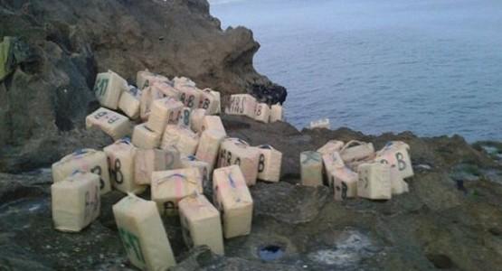 """الجيش يحبط محاولة تهريب """"الحشيش"""" إلى إسبانيا عبر """"جيتسكي"""" من طنجة"""