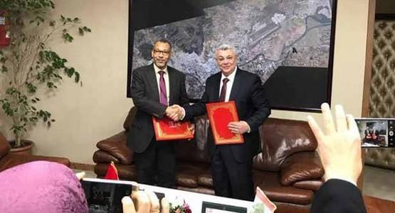 اتفاقية تعاون بين جماعة تطوان و اتحاد بلديات الضنية اللبنانية