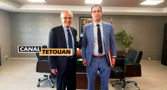 وزير اعداد التراب الوطني و التعمير يستقبل رئيس الجماعة الحضرية لمرتيل