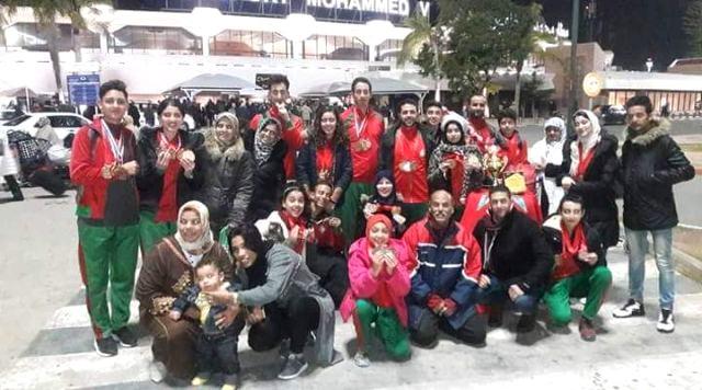 شباب تطوان للتكواندو ينال المرتبة الثانية في الترتيب العام بالبطولة العربية للأندية الممتازة