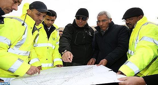"""المشاريع الطرقية بالحسيمة """"منارة المتوسط"""" ستحسن الأوضاع بالمنطقة"""