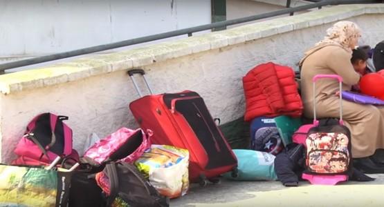 سلطات سبتة المحتلة تهدم منزل أسرة مغربية و تضعها أمام التشرد