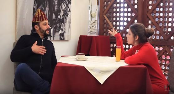 سكيتش ممتع للثنائي حسن و محسن بمناسبة عيد الحب ( الفيديو …)