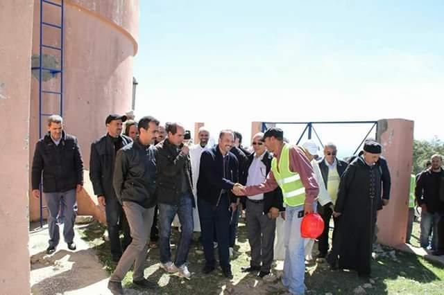 مشروع تزويد حوالي 22 قرية تابعة لإقليم وزان بالماء الصالح للشرب