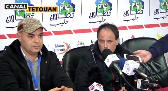 تصريح المدرب عبد الواحد بنحساين بعد انتصار المغرب التطواني على سريع واد زم (شاهد الفيديو)