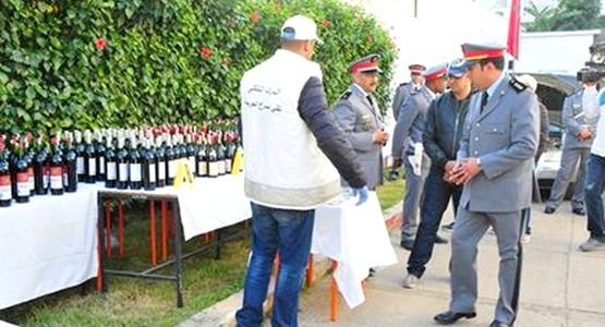 الدرك الملكي بباب تازة يتمكن من ايقاف احد اكبر مروجي الخمور والممنوعات بالمنطقة