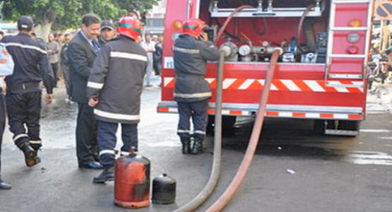 """وفاة طفلة واصابة 4 أفراد من أسرتها في انفجار """" قنينة غاز البوتان """" بوزان"""