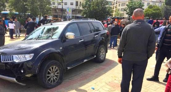 سيارة متهورة تقتحم حديقة بطنجة و تصيب 4 أشخاص بجروح متفاوتة الخطورة