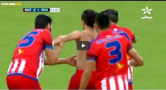 انس جبرون يسجل هدفين بطريقة رائعة في مرمى خريبكة و يقود المغرب التطواني لانتصار جديد (شاهد الاهداف)