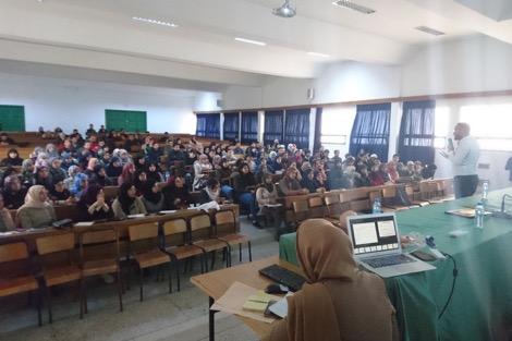تدريب الطلبة على إنقاذ حياة الآخرين بجامعة عبد المالك السعدي بتطوان